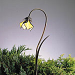 Kichler landscape Lights/Kichler 15320 Tiffany Petals Path Light